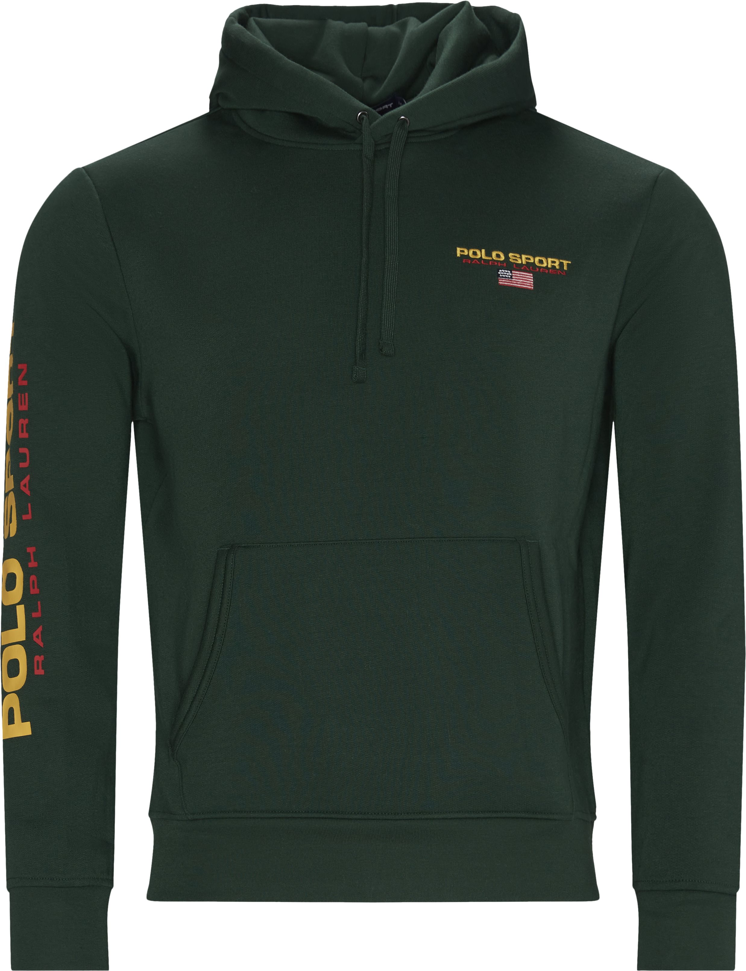 Sport Fleece Hoodie - Sweatshirts - Regular - Grön