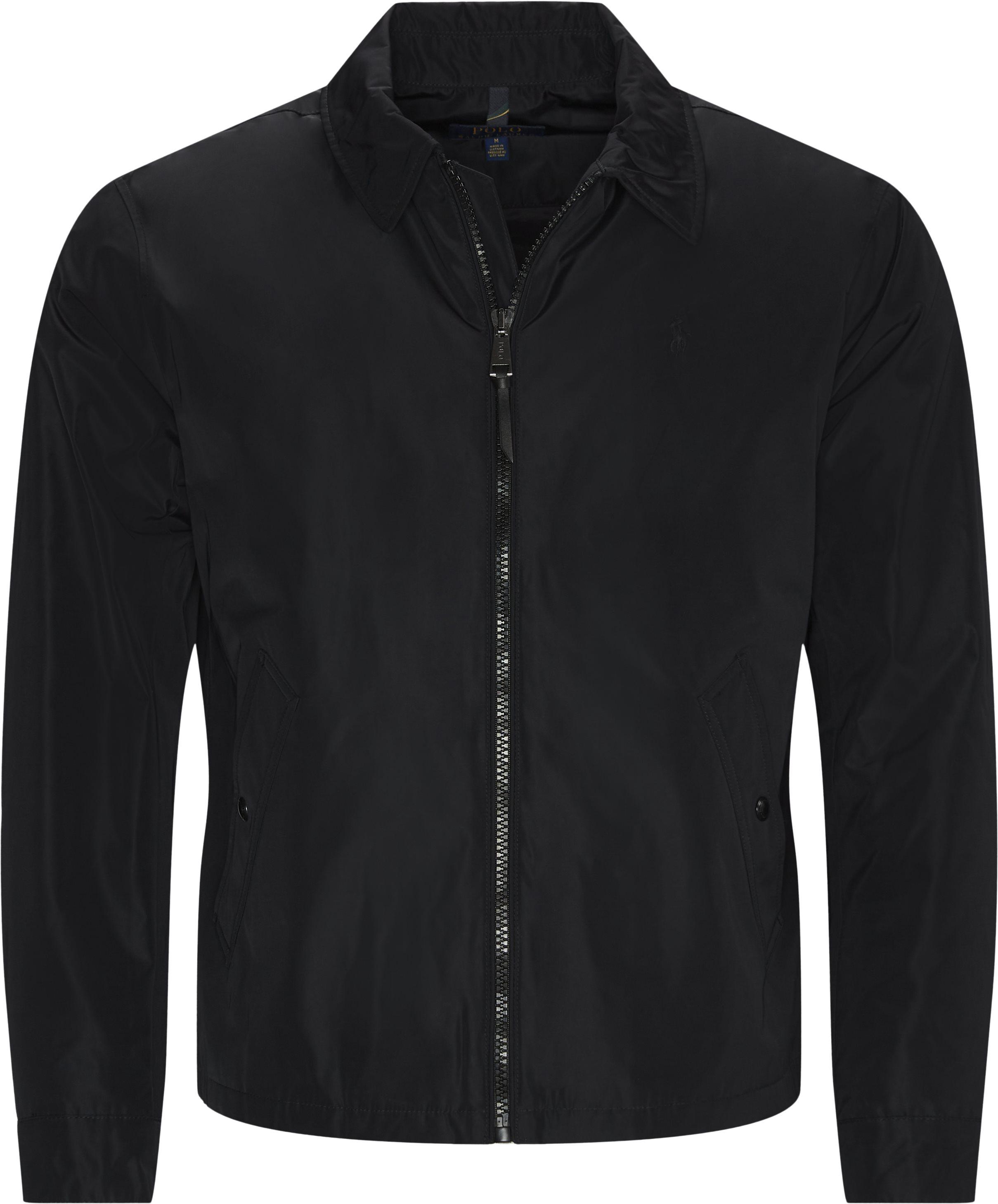Water Repellent Jacket - Jackets - Regular - Black