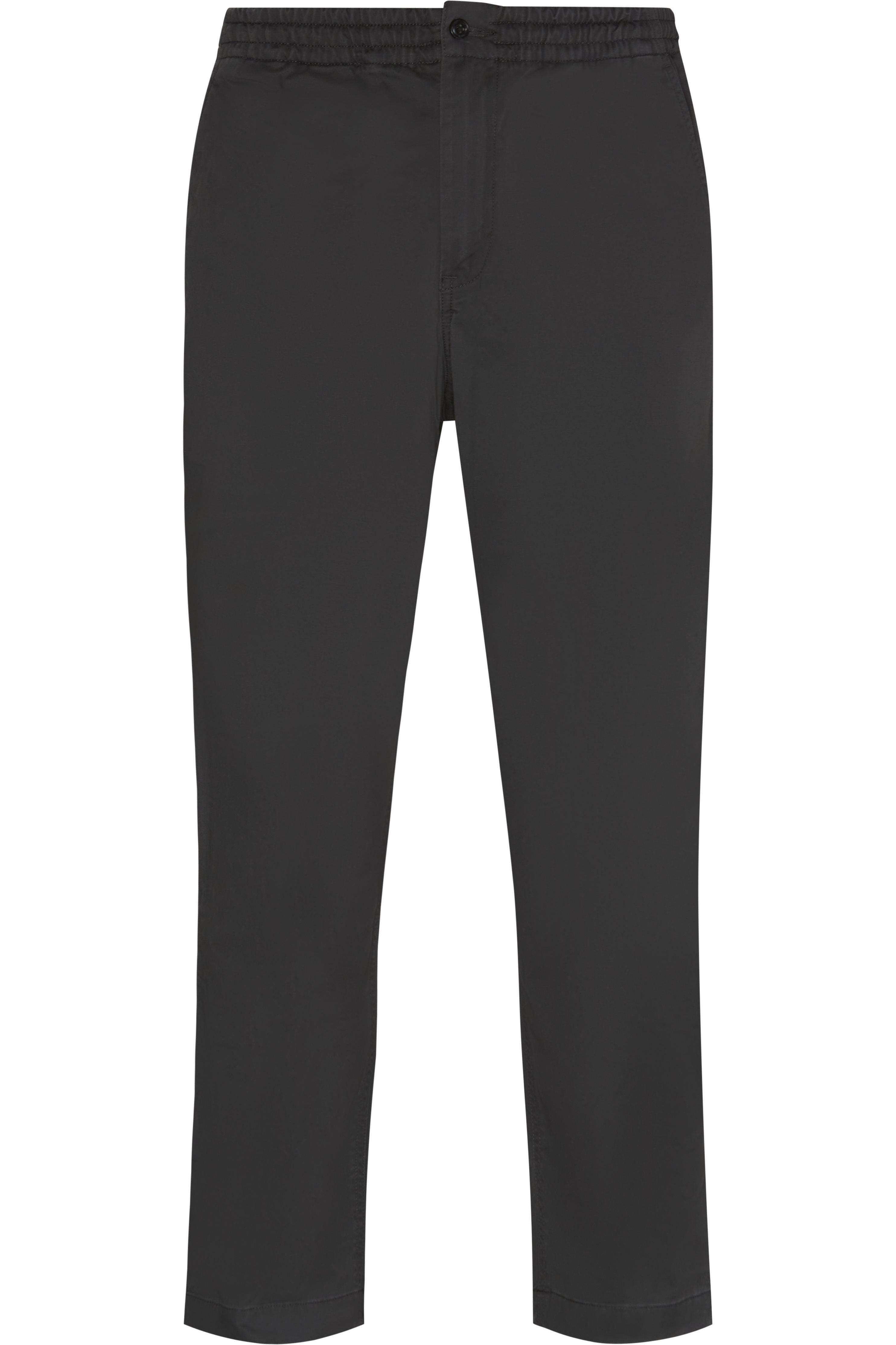 Logo Comfort Pant - Byxor - Regular - Grå