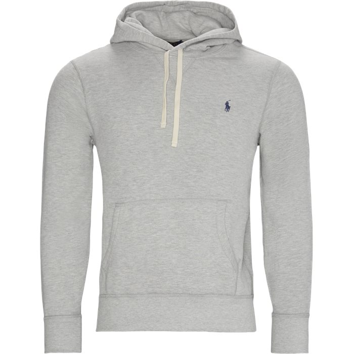 Logo Hoodie - Sweatshirts - Regular - Grey