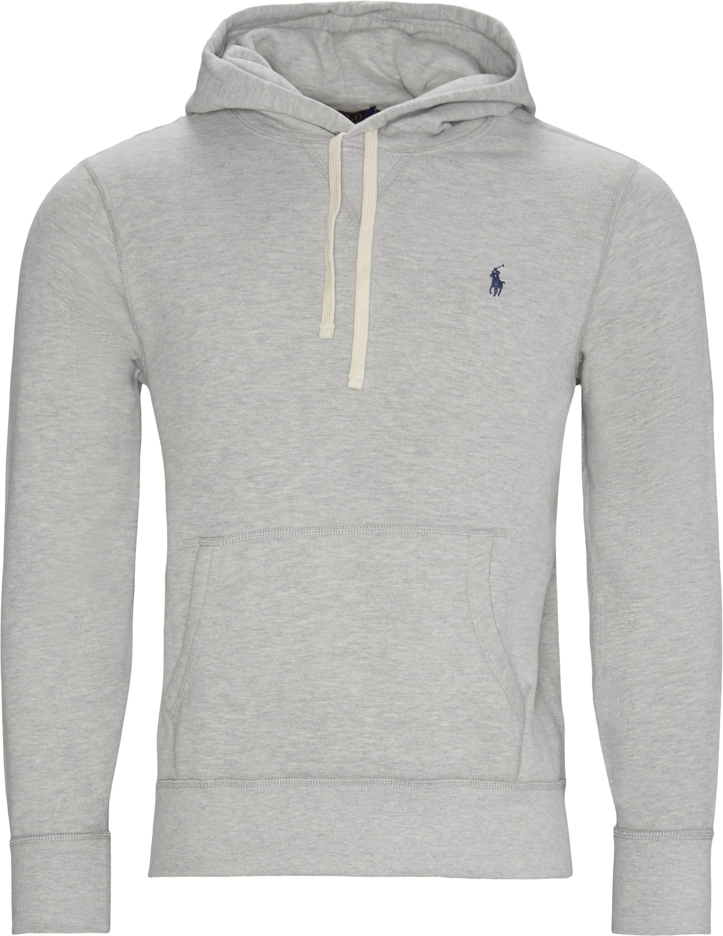 Logo Hoodie - Sweatshirts - Regular - Grey