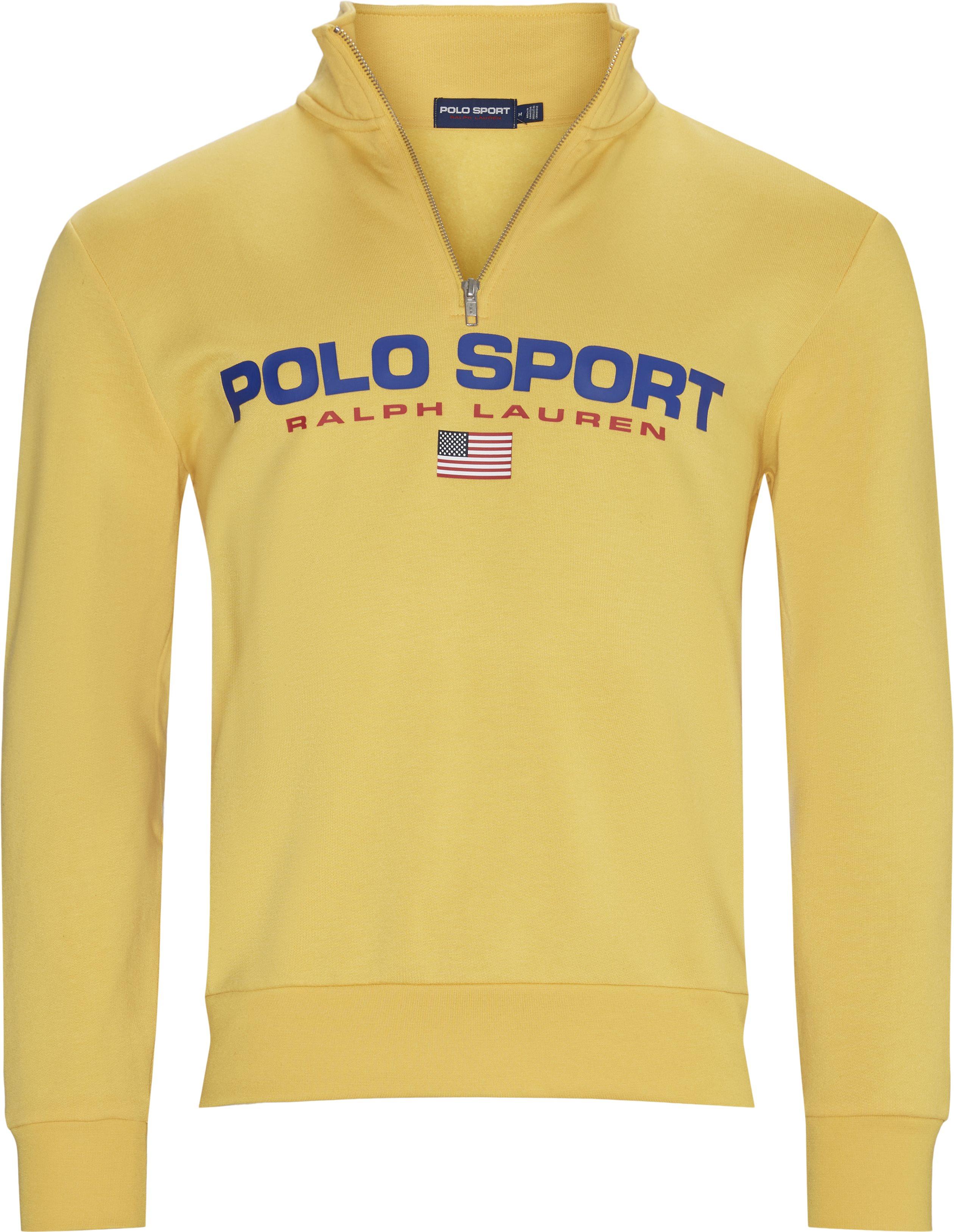 Polo Sport Half-Zip Sweatshirt - Sweatshirts - Regular - Yellow