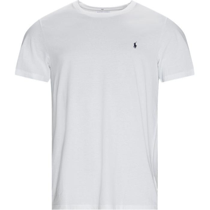 Cotton Logo Tee - T-shirts - Regular - Hvid