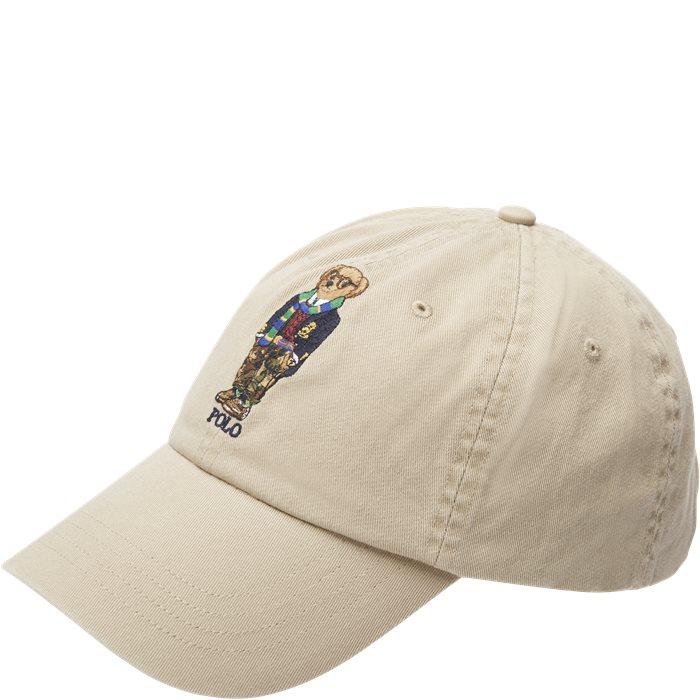 Polo Bear Cap - Caps - Sand