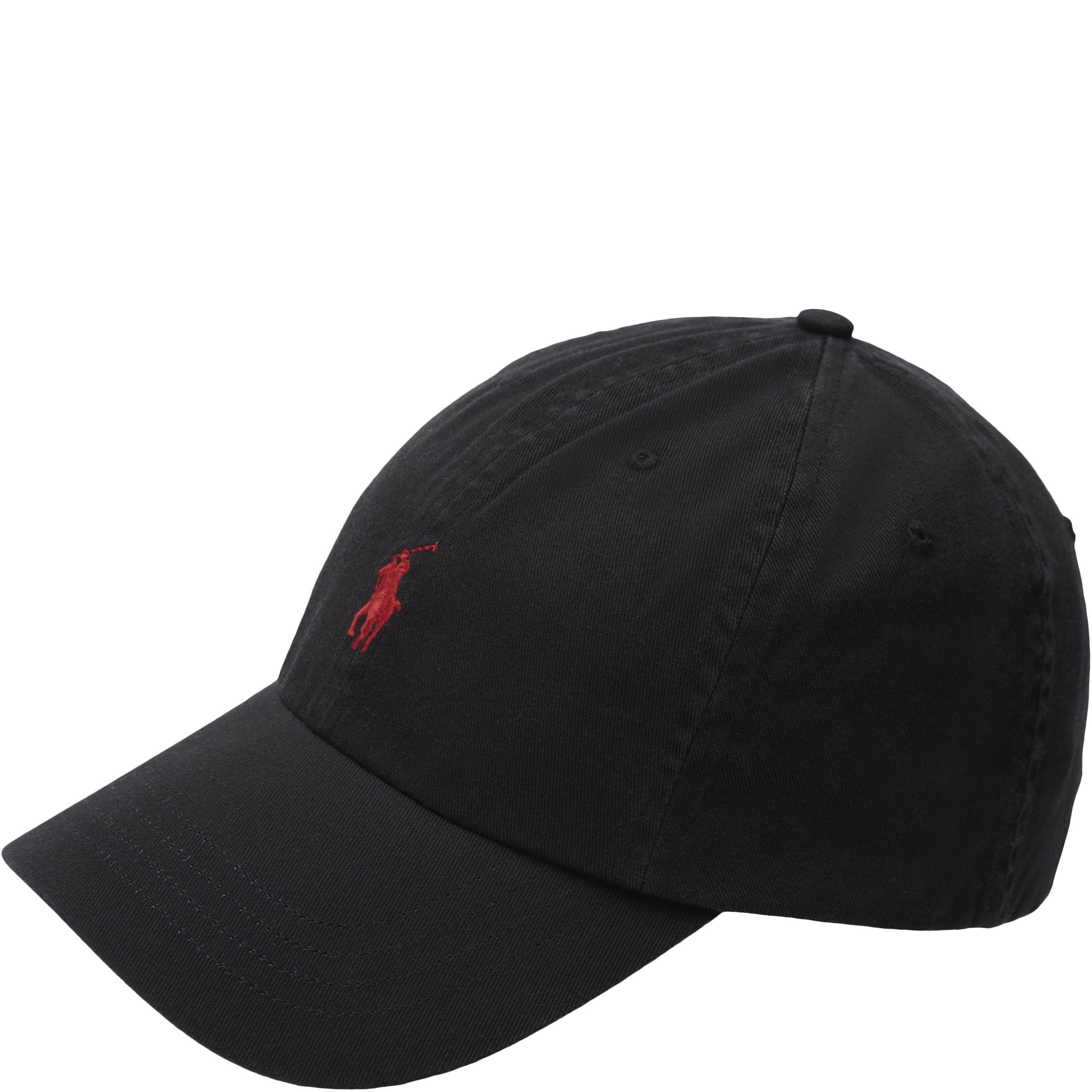 Logo Cotton Cap - Caps - Sort
