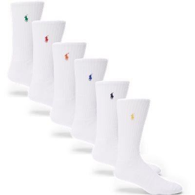 6-Pack Tennis Socks 6-Pack Tennis Socks | Hvid