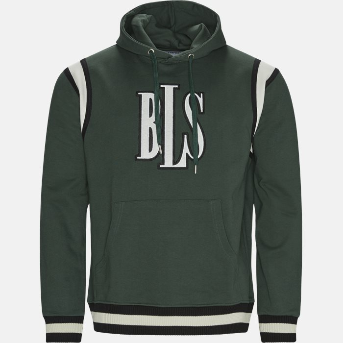 Sweatshirts - Regular fit - Green