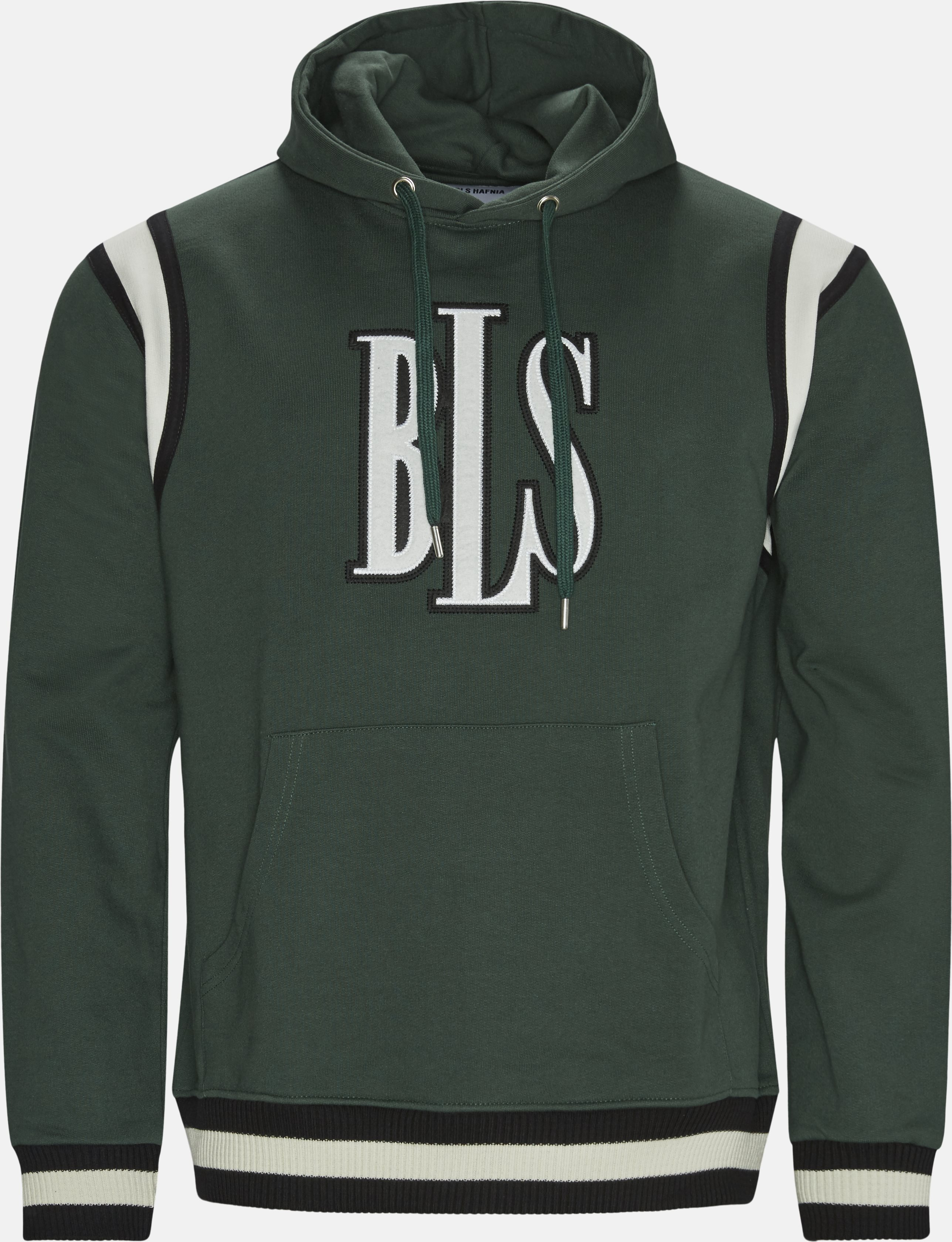 Hoodie  - Sweatshirts - Regular fit - Grøn