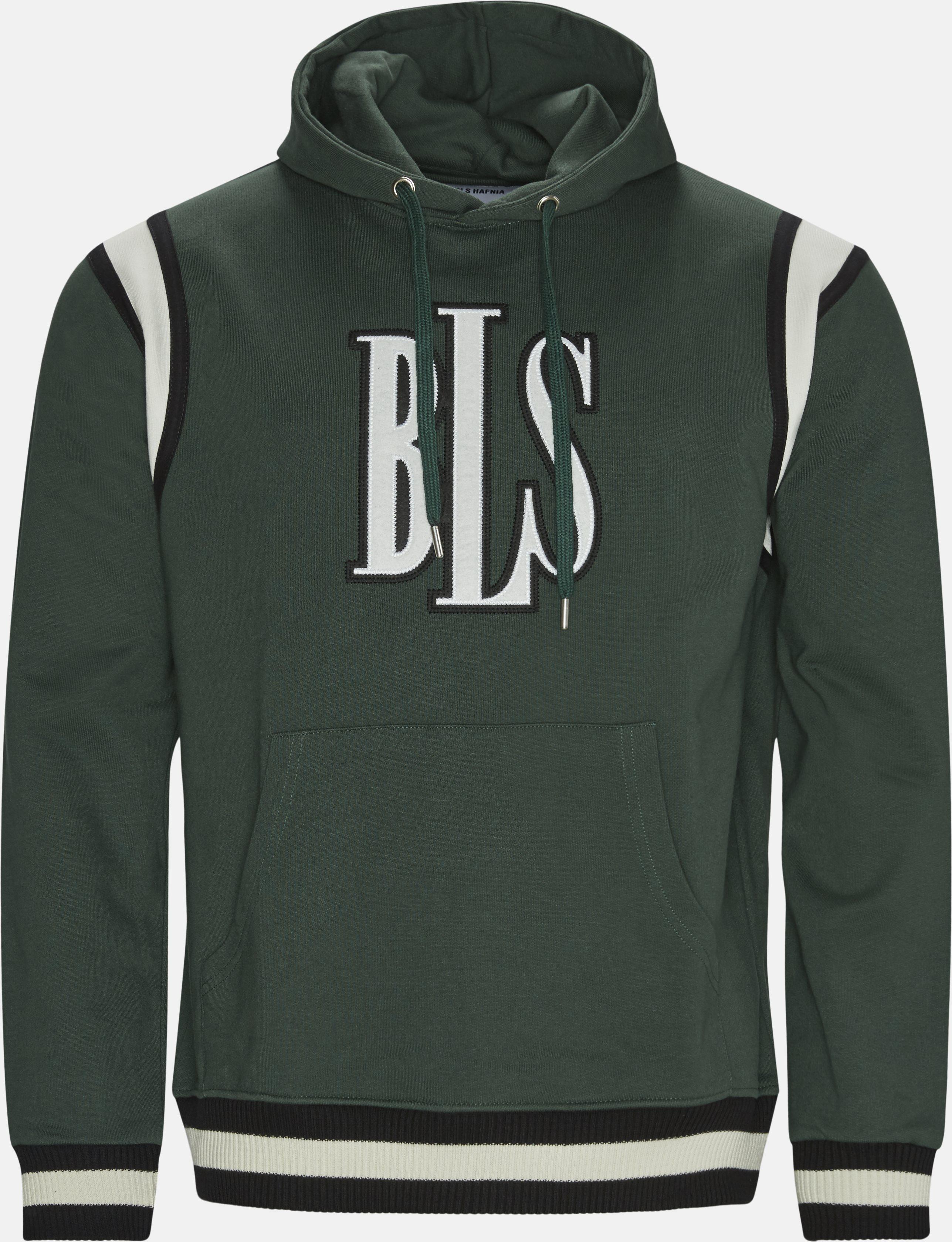 Sweatshirts - Regular fit - Green