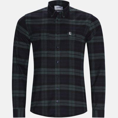 Flannel Skjorte Regular | Flannel Skjorte | Blå
