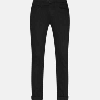 Slim | Jeans | Sort