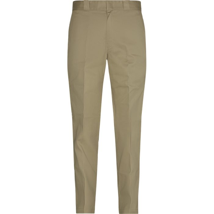 Trousers - Relaxed fit - Sand