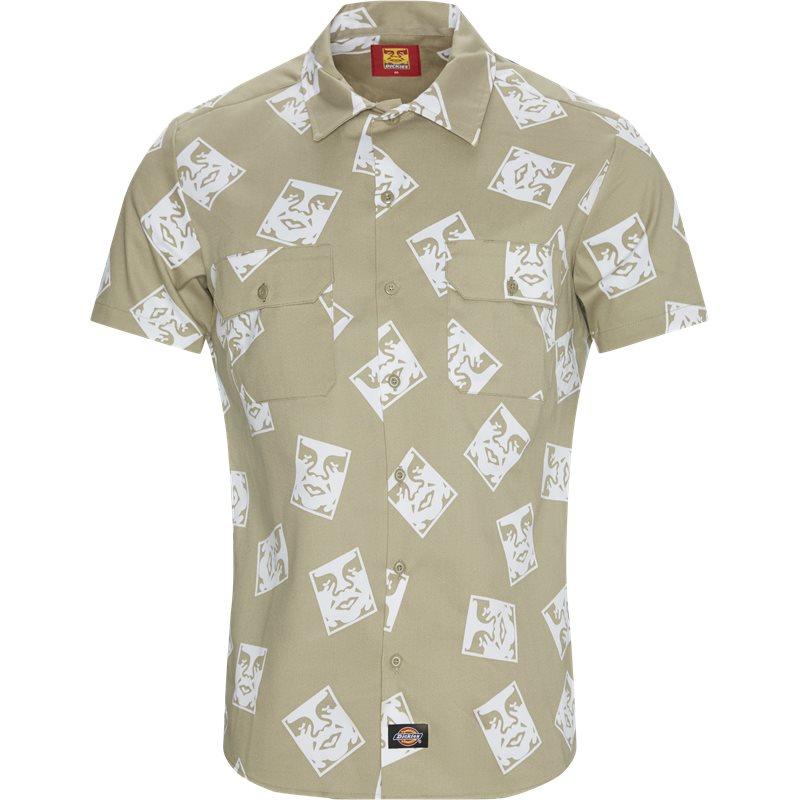 Køb Dickies Oby3 Work Shirt Khaki