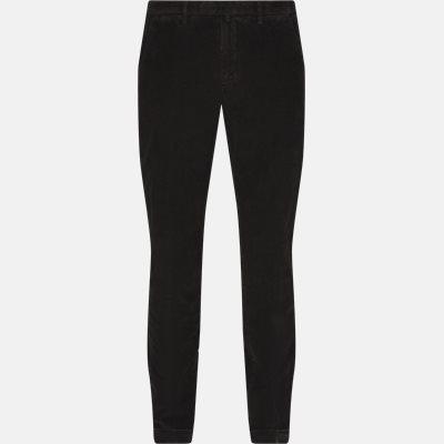 Regular | Trousers | Brown