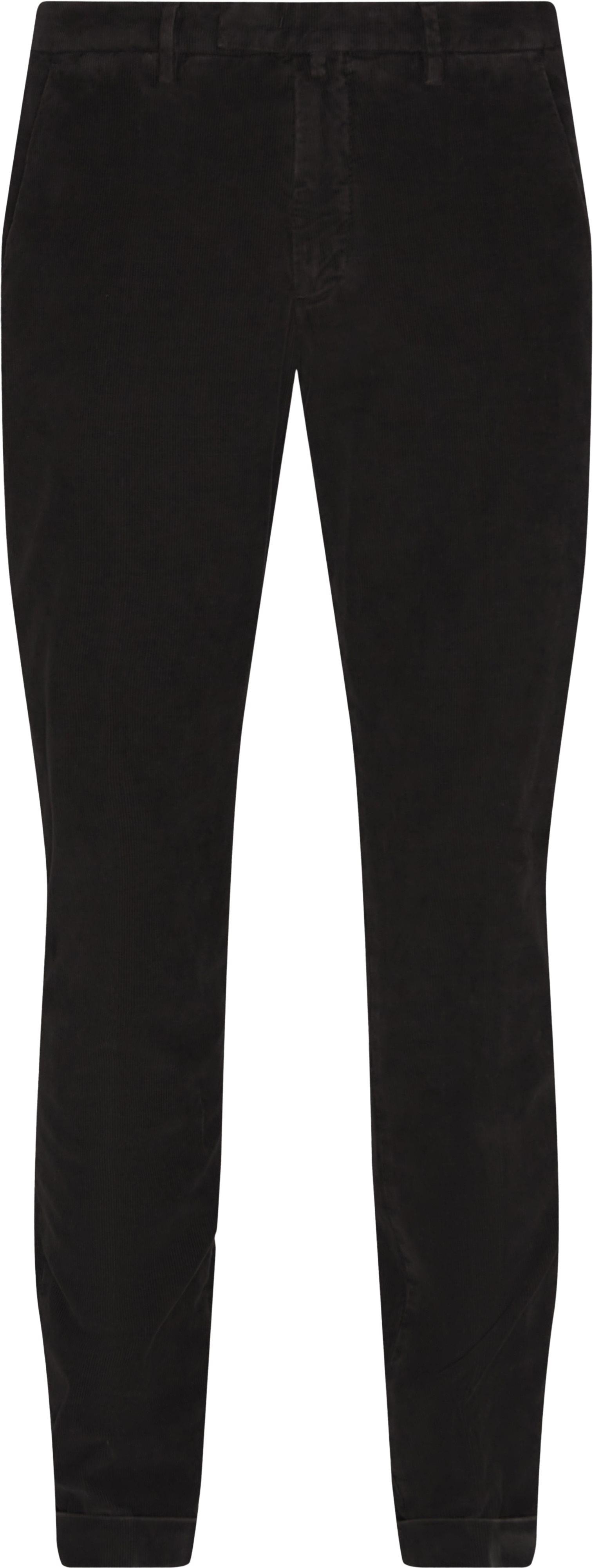 Fløjlsbukser - Bukser - Regular fit - Brun