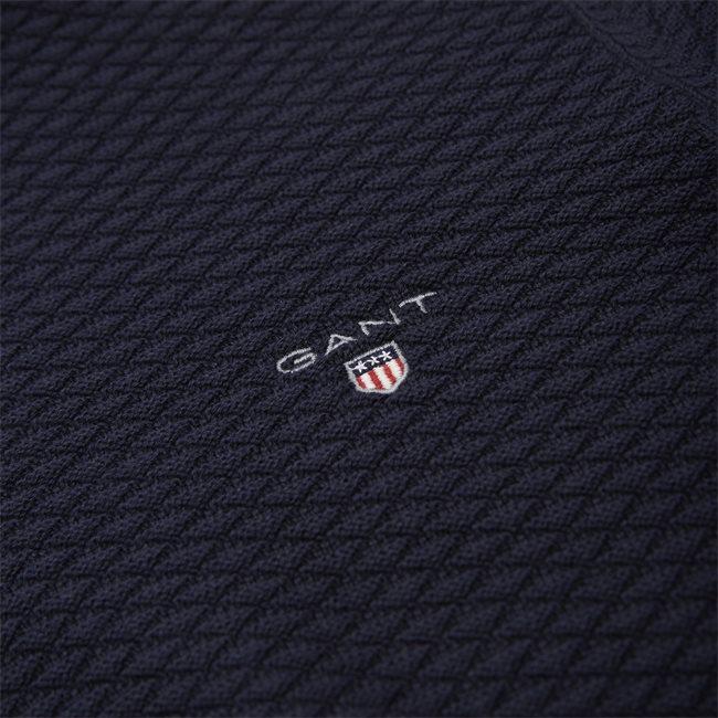 Triangle Texture Half Zip