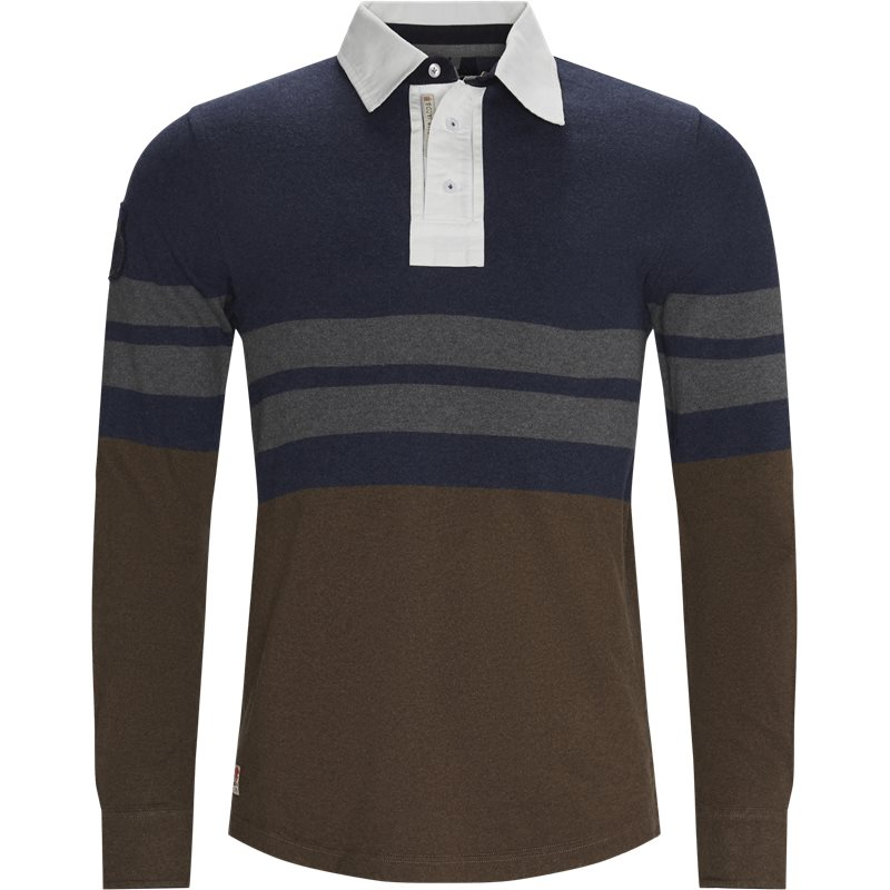 hansen & jacob – Hansen & jacob - chest striped rugger fra kaufmann.dk