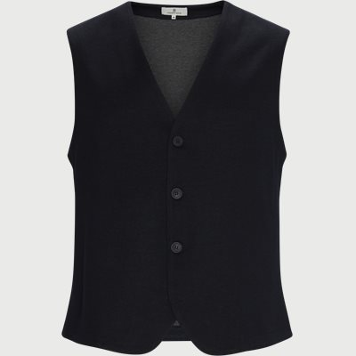 La Roma Waistcoat Regular | La Roma Waistcoat | Blå
