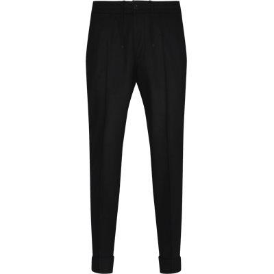 Regular fit | Bukser | Sort