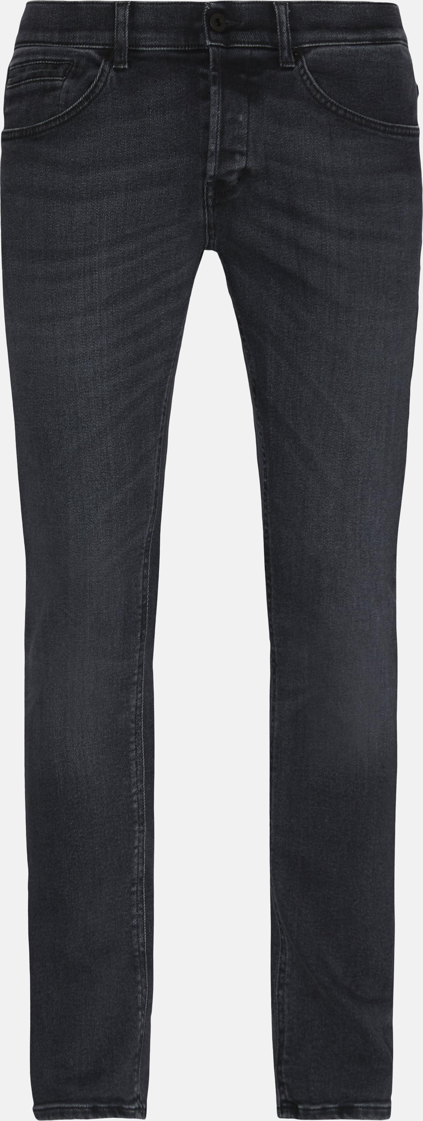 Jeans - Slim fit - Sort