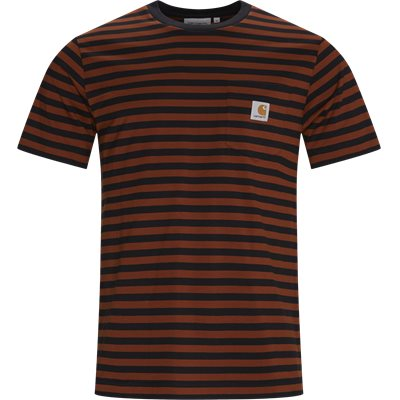 PARKER Pocket Tee Regular | PARKER Pocket Tee | Orange
