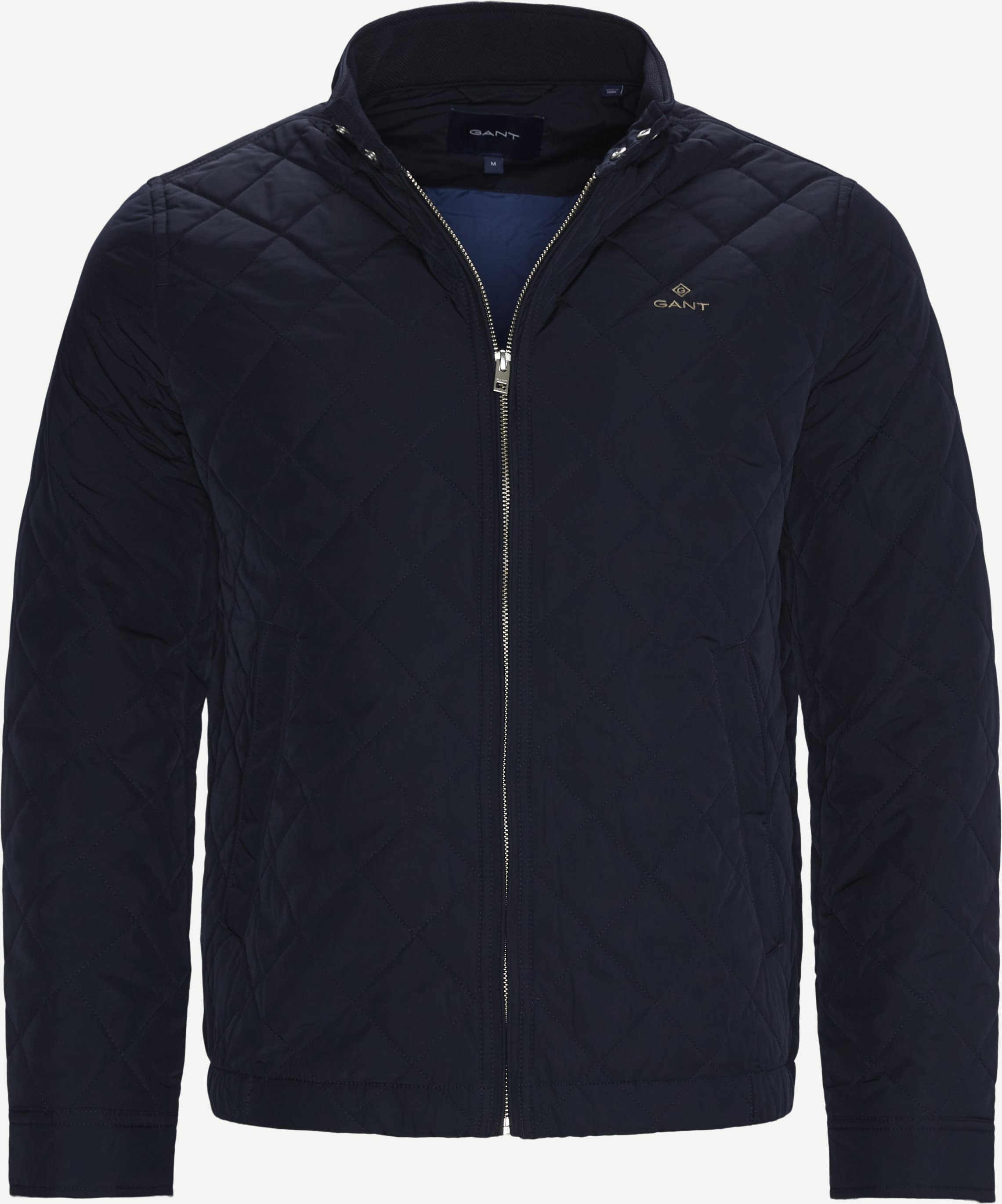 Quilted Windcheater Jacket - Jackets - Regular - Blue
