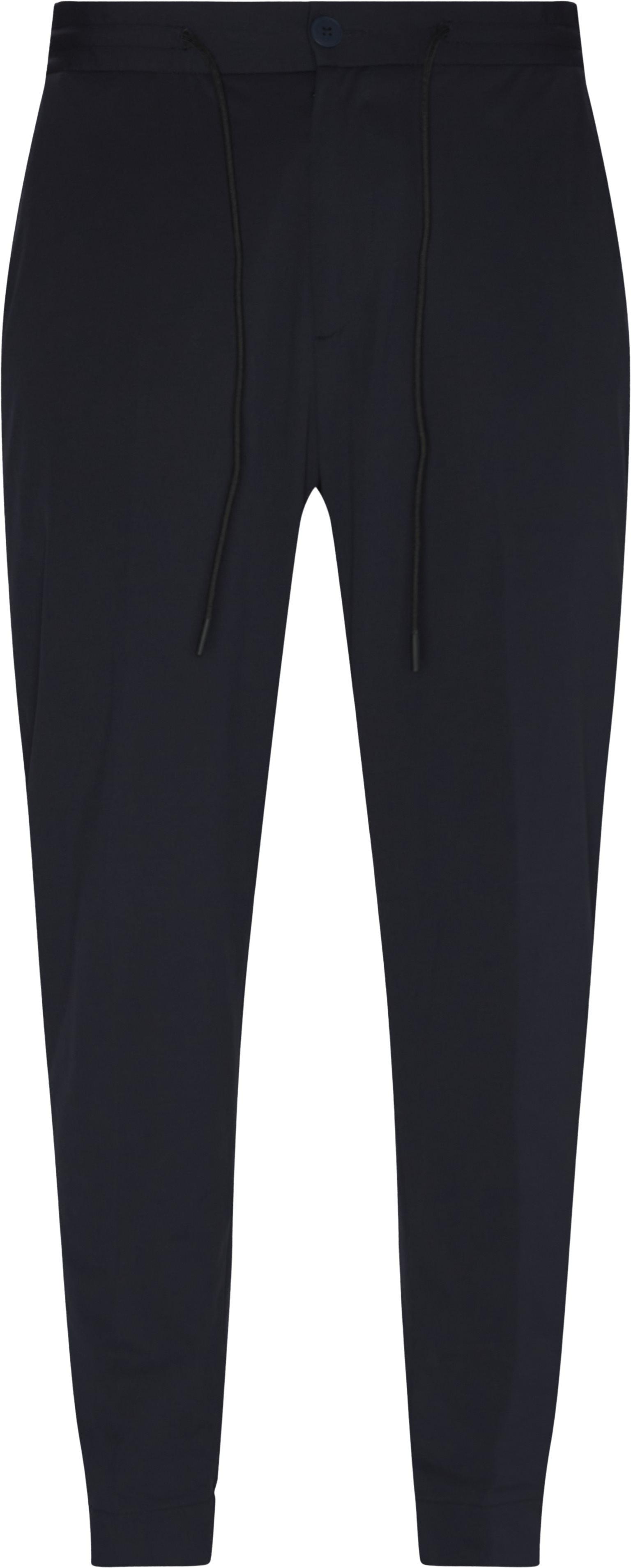 Bukser - Regular fit - Blå