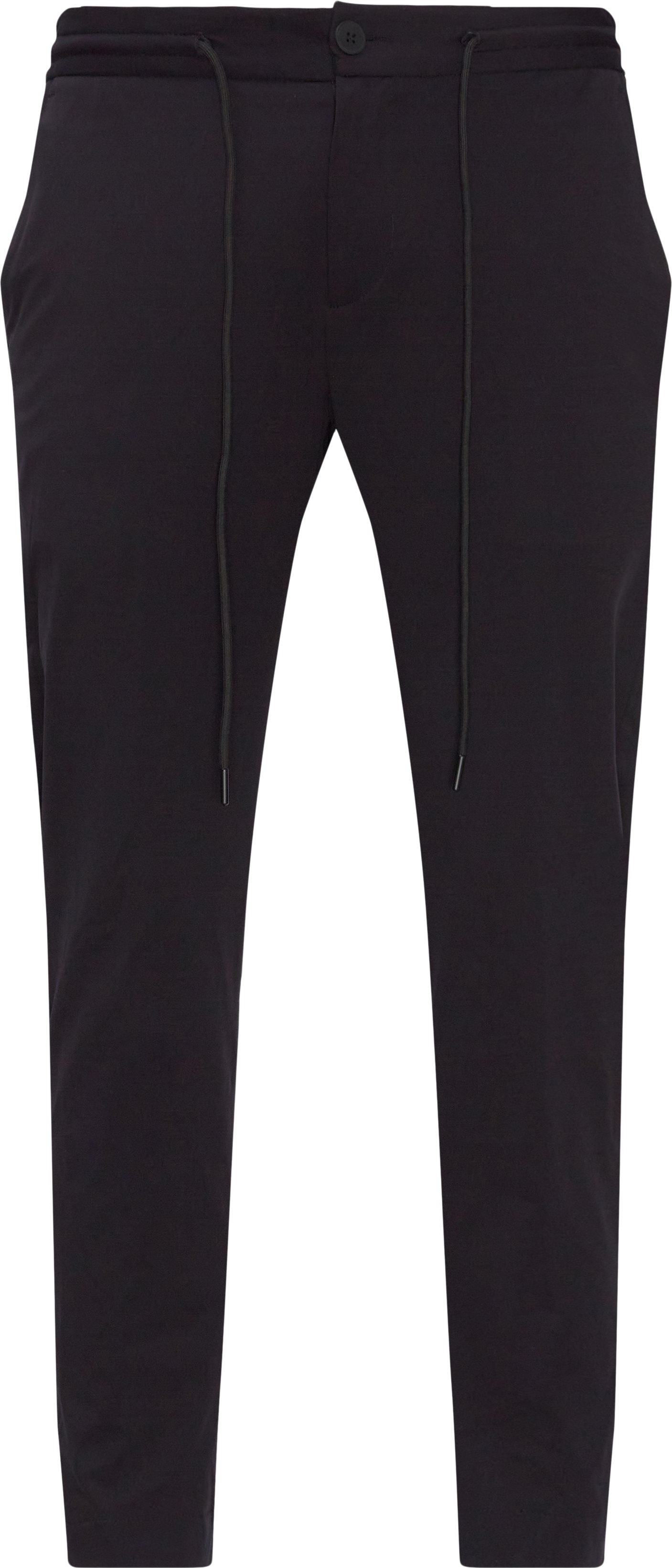 Bukser - Regular fit - Sort