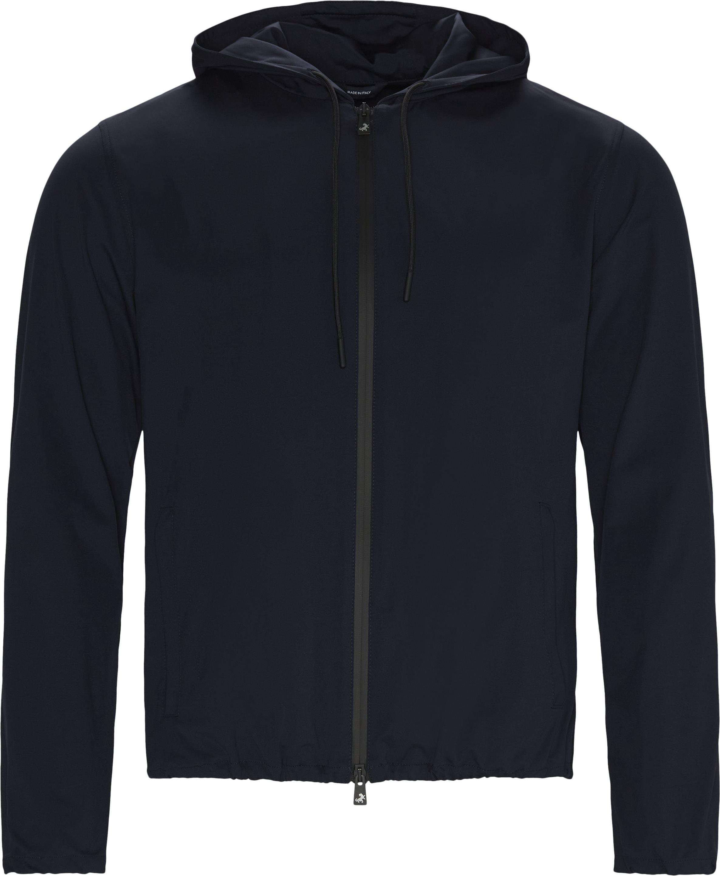 Zip sweatshirts - Regular fit - Blå