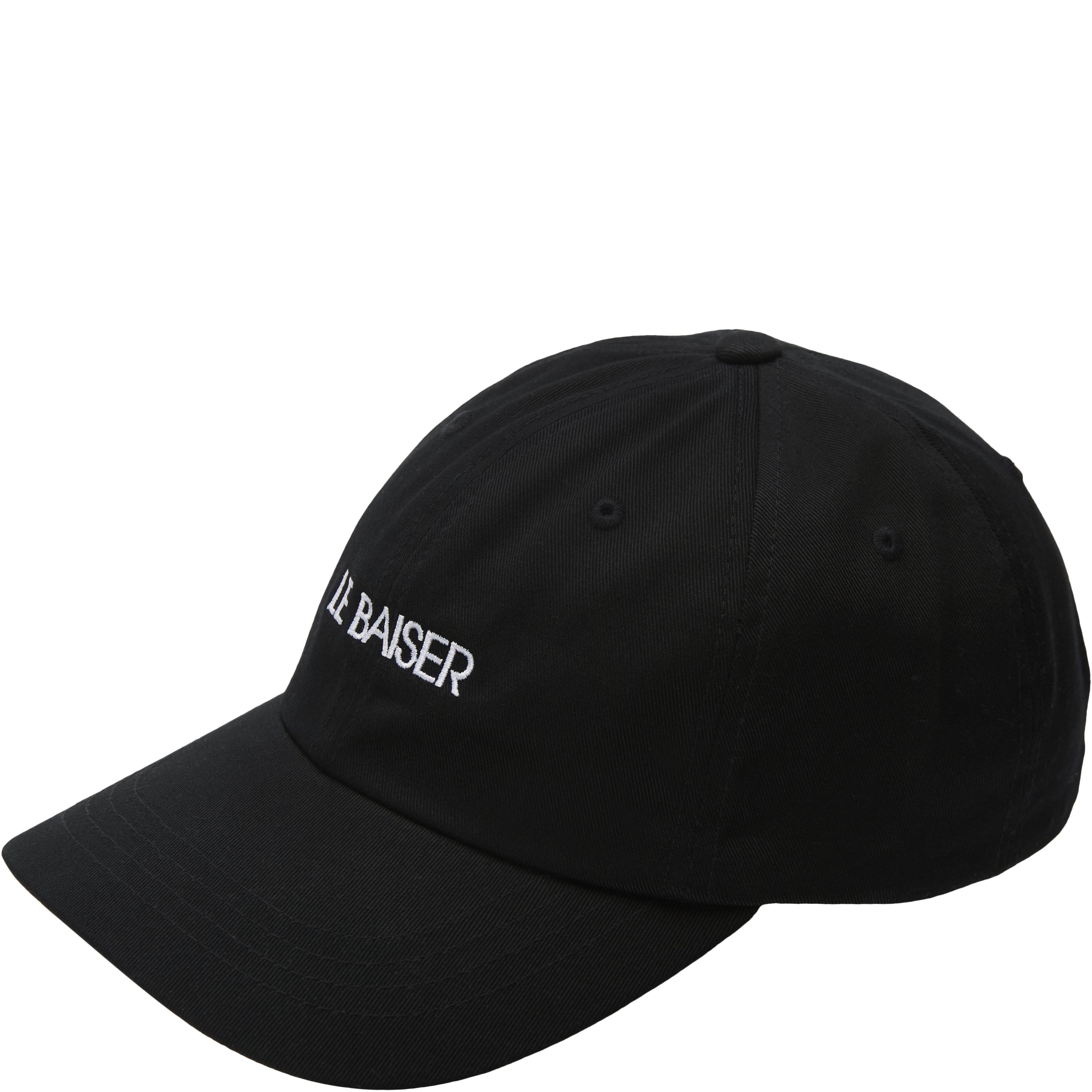 Logo Cap - Caps - Black