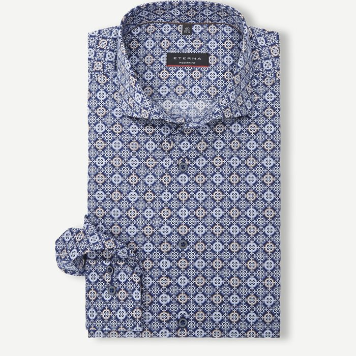 Skjortor - Blå
