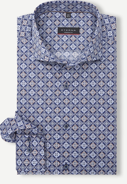 3947 Shirt - Shirts - Modern fit - Blue