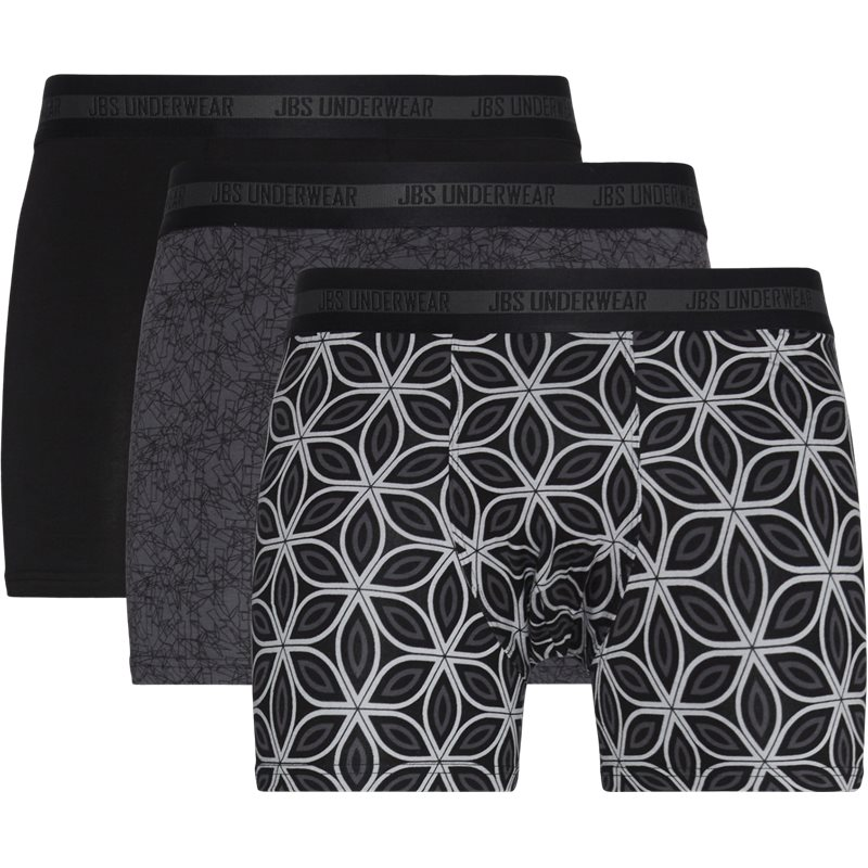 Jbs - 11081-51 3-pack bamboo tights undertøj fra jbs på kaufmann.dk