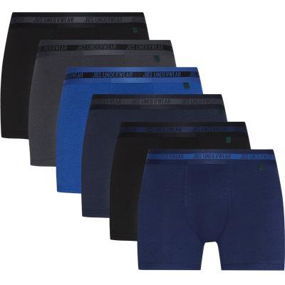 6-Pack Bambus Tights Regular | 6-Pack Bambus Tights | Blue