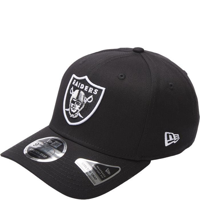 Raiders Snapback Cap - Kepsar - Svart