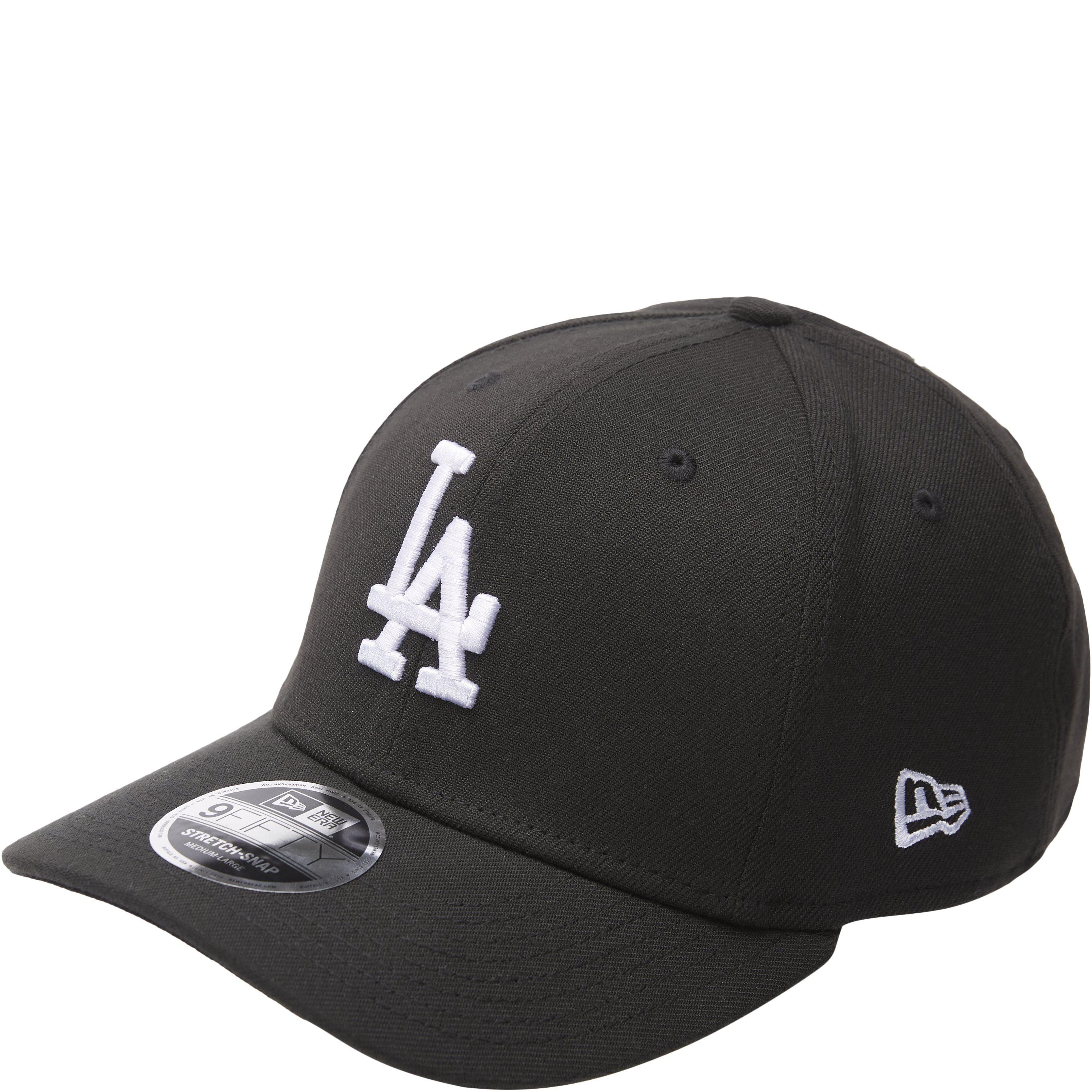 LA Snapback Cap - Caps - Sort