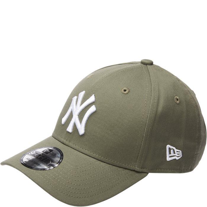 Yankees Strapback Cap - Kepsar - Grön