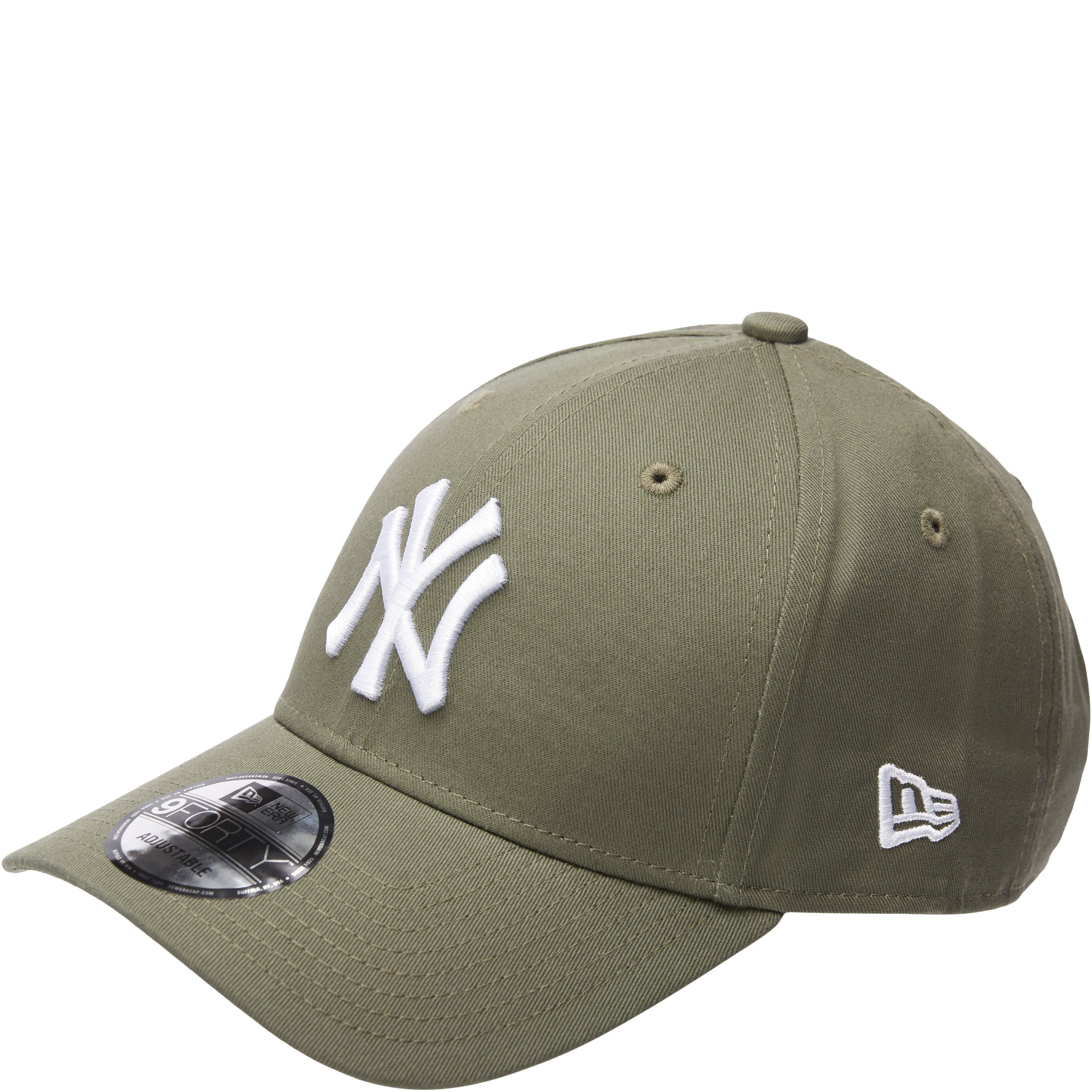 Yankees Strapback Cap - Caps - Grøn