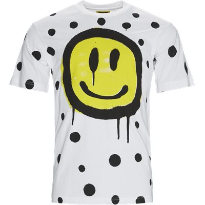 SMILEY VANDAL Tee Regular | SMILEY VANDAL Tee | Hvid
