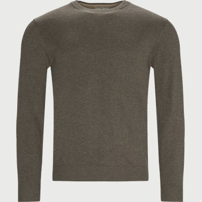 Crewneck Sweater Regular | Crewneck Sweater | Sand