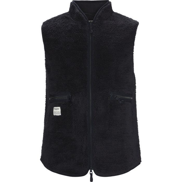 Fleece Vest - Västar - Regular - Blå