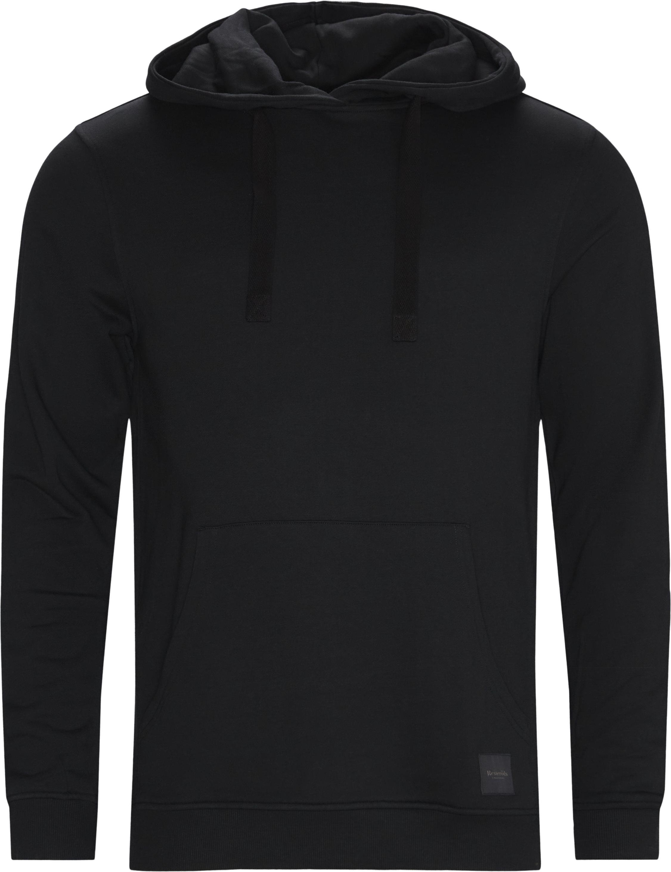 Bamboo Hoodie - Sweatshirts - Regular - Svart
