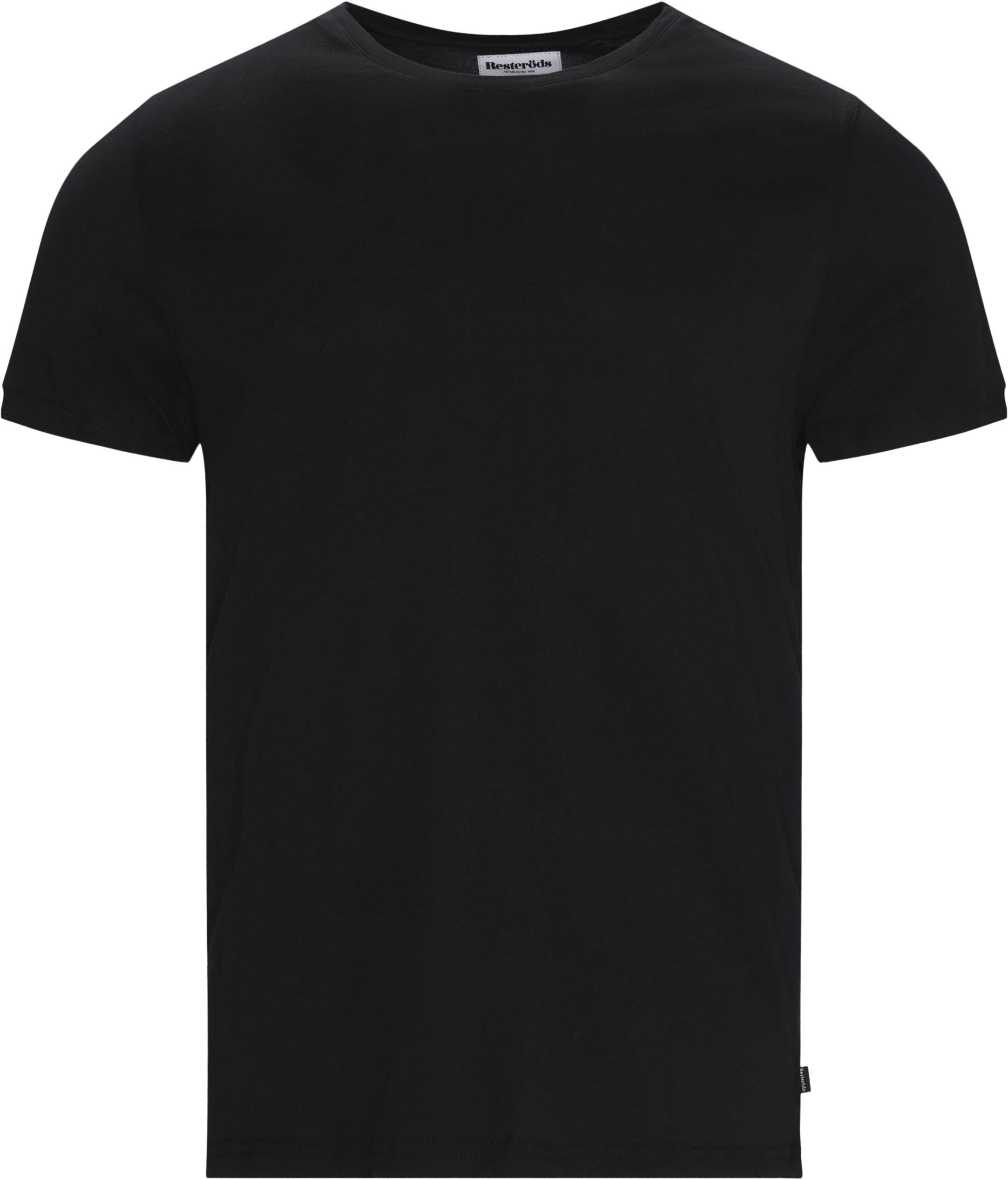 O-Neck Tee - T-shirts - Regular - Svart