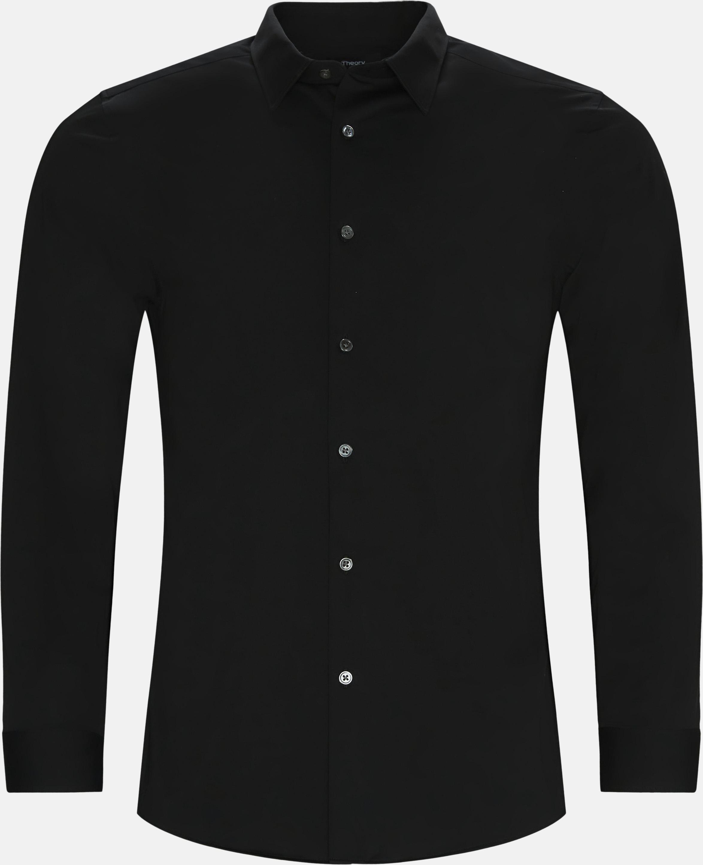 Skjorter - Regular fit - Sort
