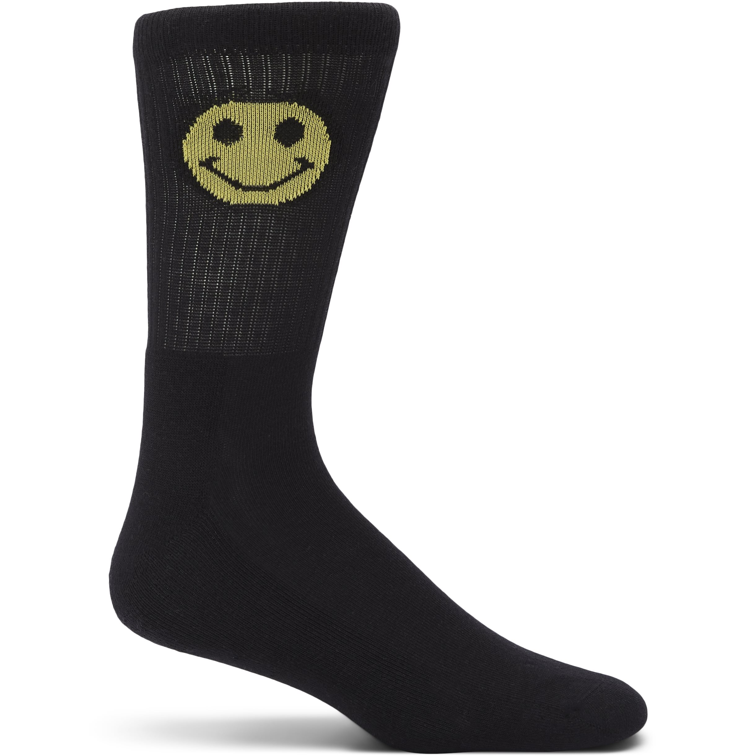 1-Pack Face Tennis Socks - Strømper - Sort