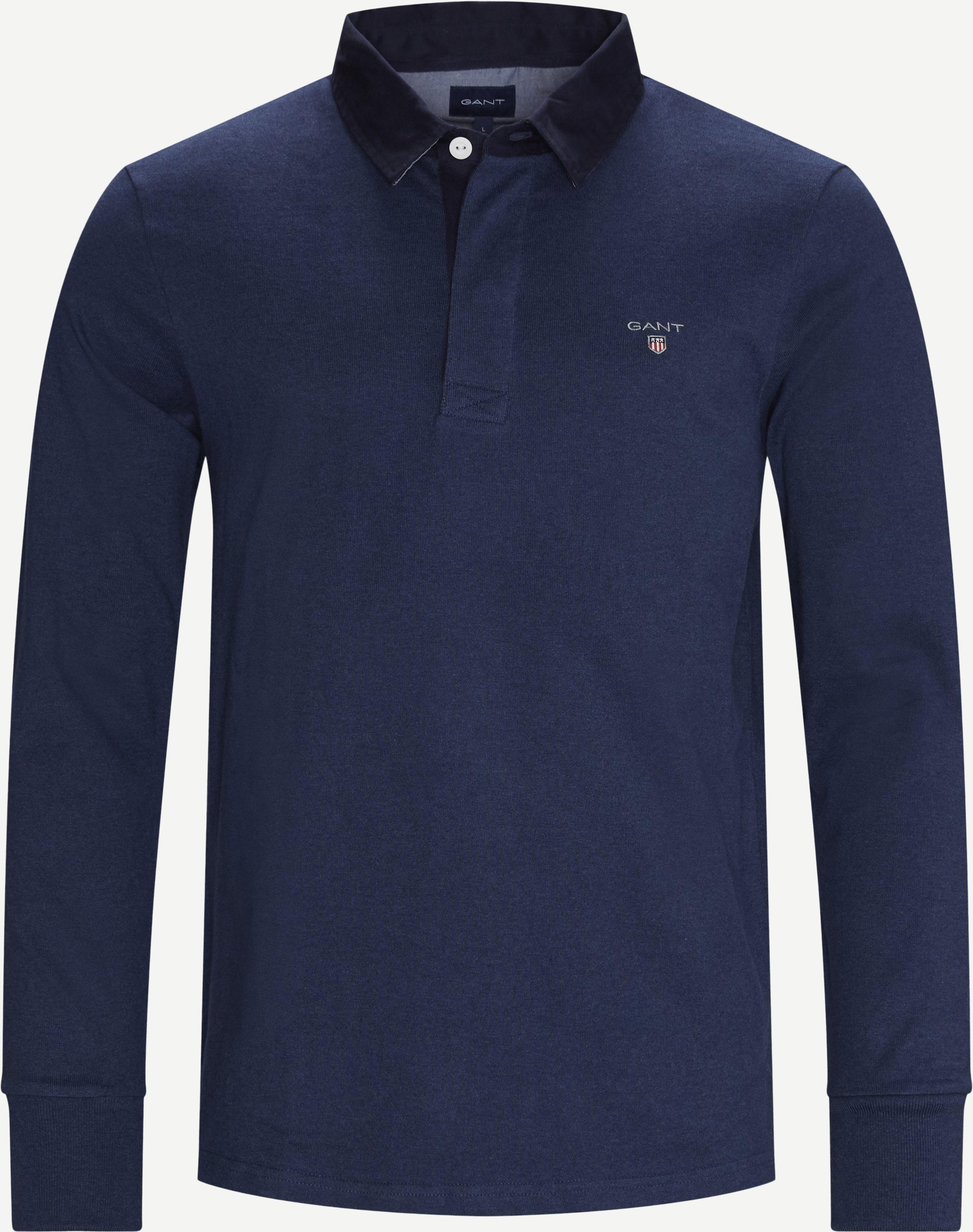 Original Heavy Rugger LS T-shirt - T-shirts - Regular - Denim