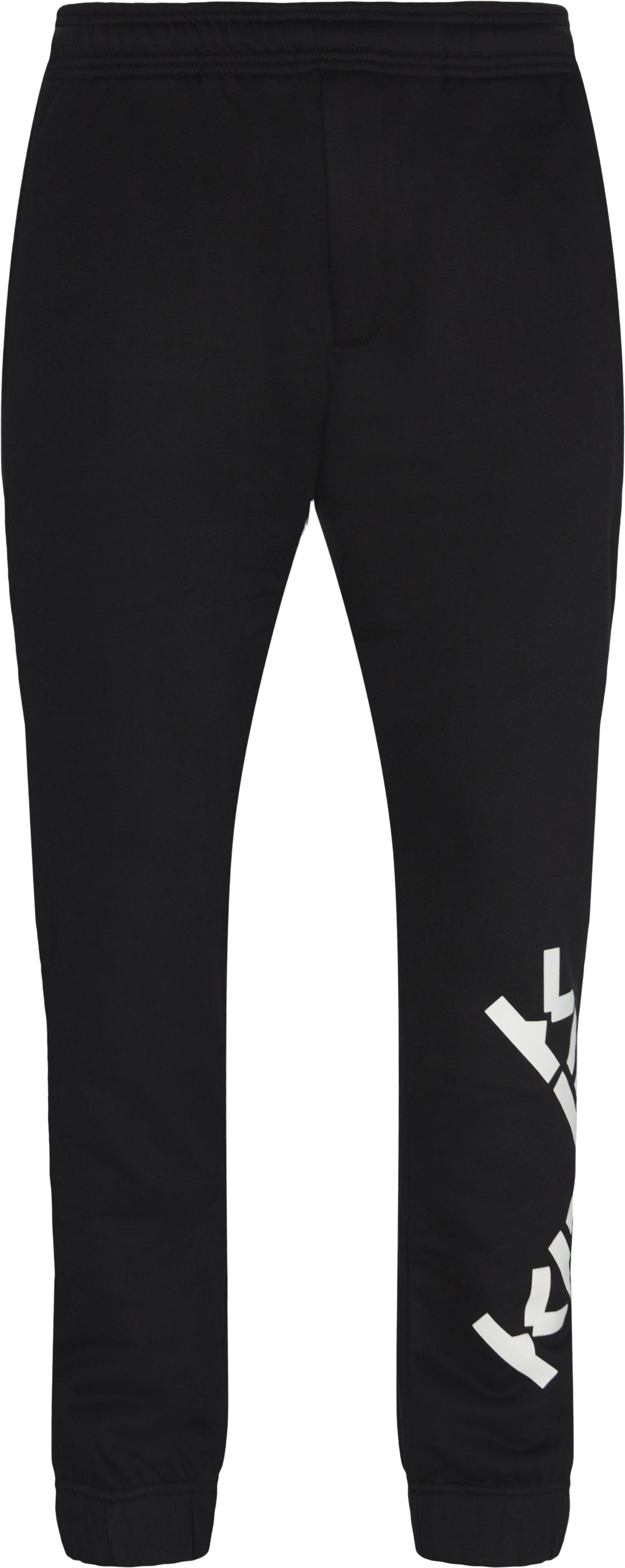 Sweatpants - Bukser - Regular fit - Sort