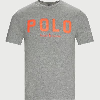 Logo T-shirt Slim | Logo T-shirt | Grå