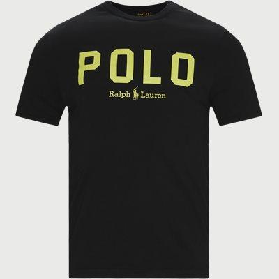 Logo T-shirt Slim fit | Logo T-shirt | Sort