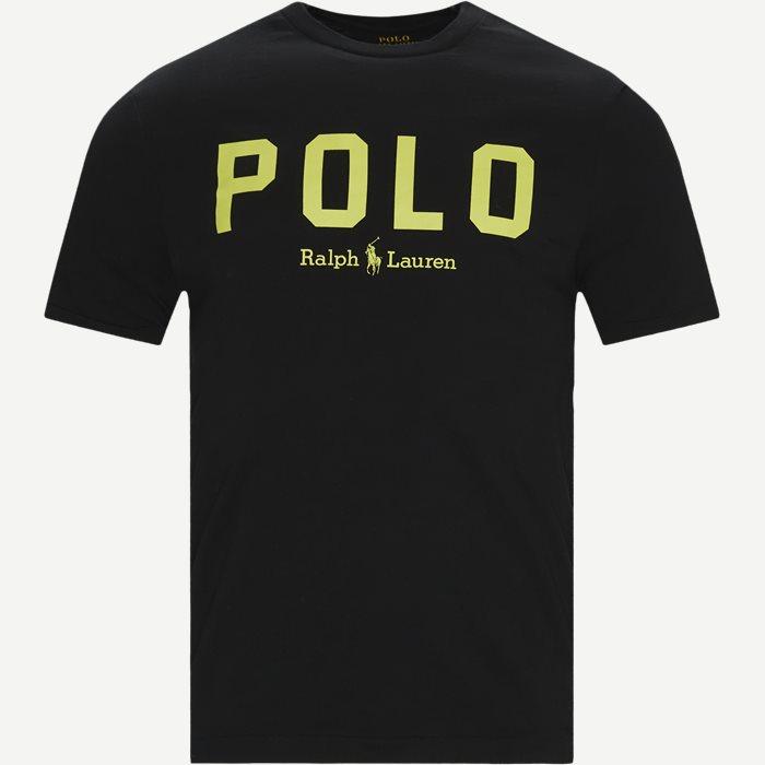 Logo T-shirt - T-shirts - Slim - Sort